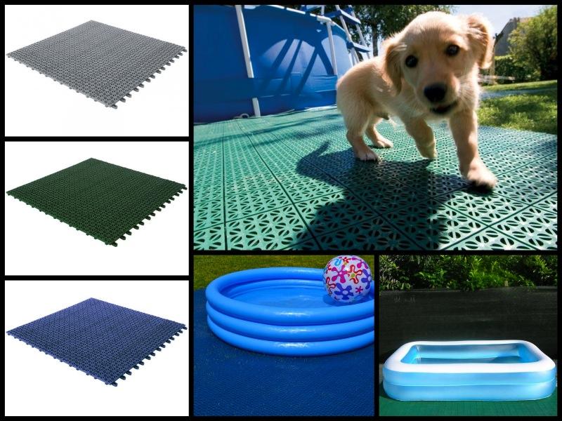 Kit base per piscina da giardino bestprato - Piscina sopra terra ...