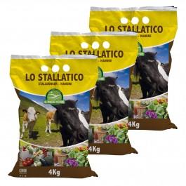 Stallatico in Pellet Biologico Certificato  -  Agribios