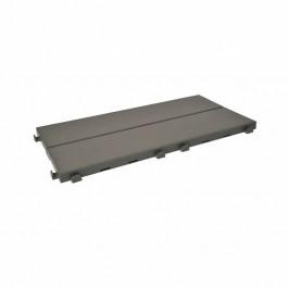Piastrella in plastica ad effetto legno Easyplate. Colore grigio..