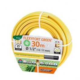 Tubo Gomma Acqua Flexyfort Green Claber 9132
