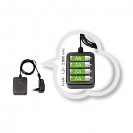 Kit di alimentazione a batteria per vasi luminosi