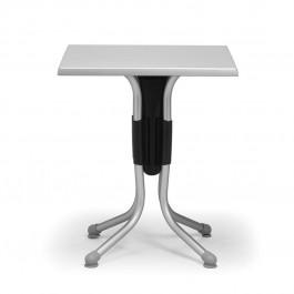 Tavolino Polo 80 di Nardi >>> Struttura Antracite / Anodizzato e Piano Argento