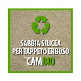 Sabbia Silicea per Prato Sabbiature Top Dressing CAMBIO
