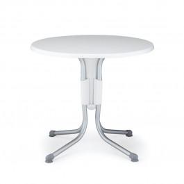 Tavolino Polo 80 di Nardi >>> Struttura Bianco / Anodizzato e Piano Bianco