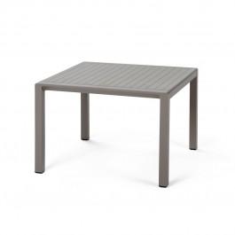 Tavolino quadrato da esterno Aria 60 di Nardi - tortora