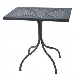 Tavolo rettangolare in metallo Bistrot 60x80