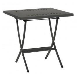 Tavolo pieghevole in metallo Hermes 80