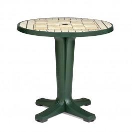 Tavolino rotondo Marte 78 di Nardi - Foresta / Piano decoro Siena