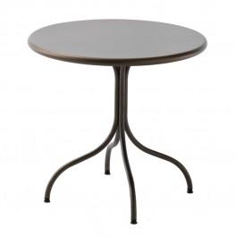 Tavolo in metallo per esterni Bistrot 80