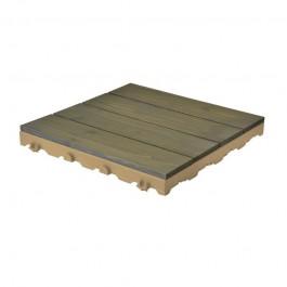 Piastrelle in legno per pavimenti esterni Woodplate Pino Grigio