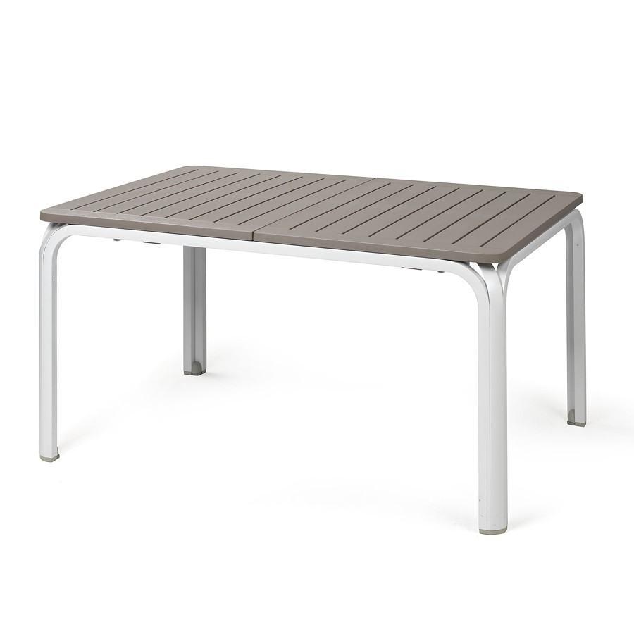 Tavolo da giardino allungabile alloro 140 nardi for Arredo da giardino in alluminio