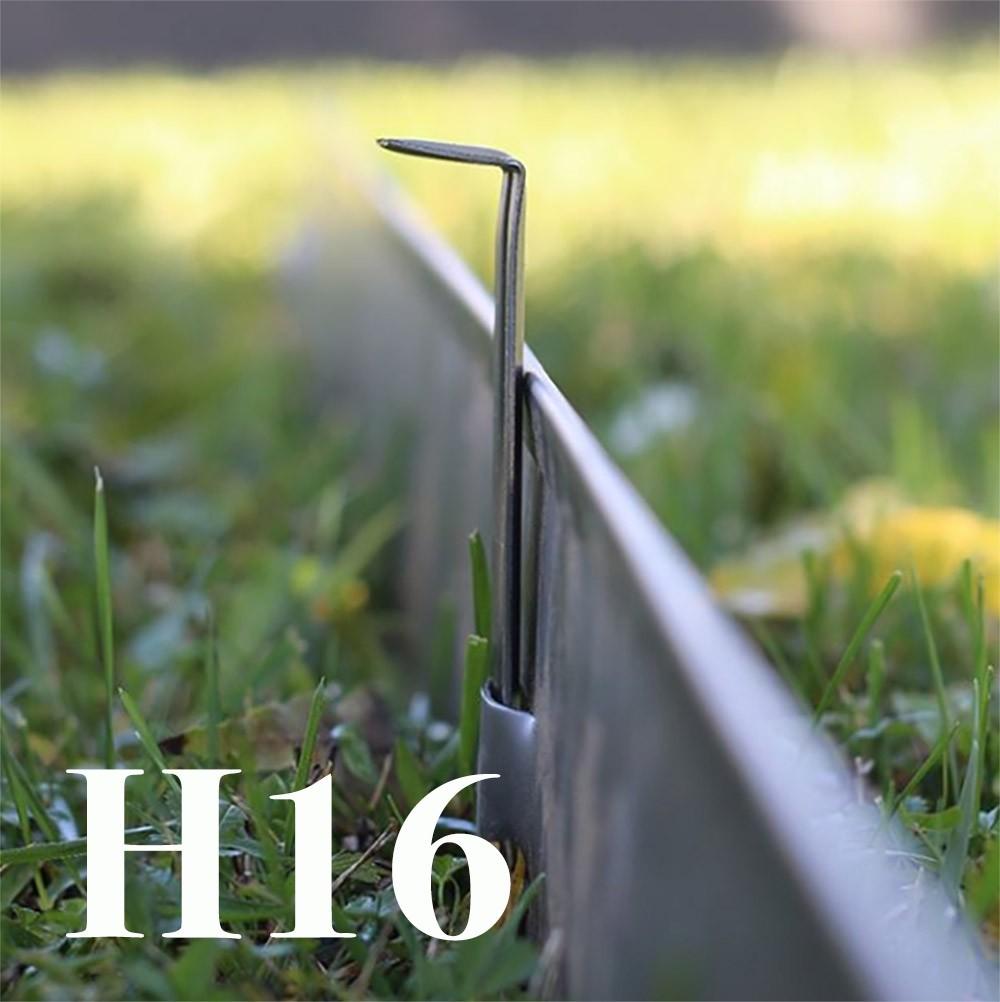 Bordure Per Aiuole In Plastica Prezzi.Bordura Aiuole In Ferro Zincato H160cm X 20 Metri