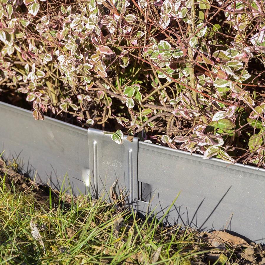 Bordura aiuole in ferro zincato h160cm x 20 metri for Bordura giardino prezzo