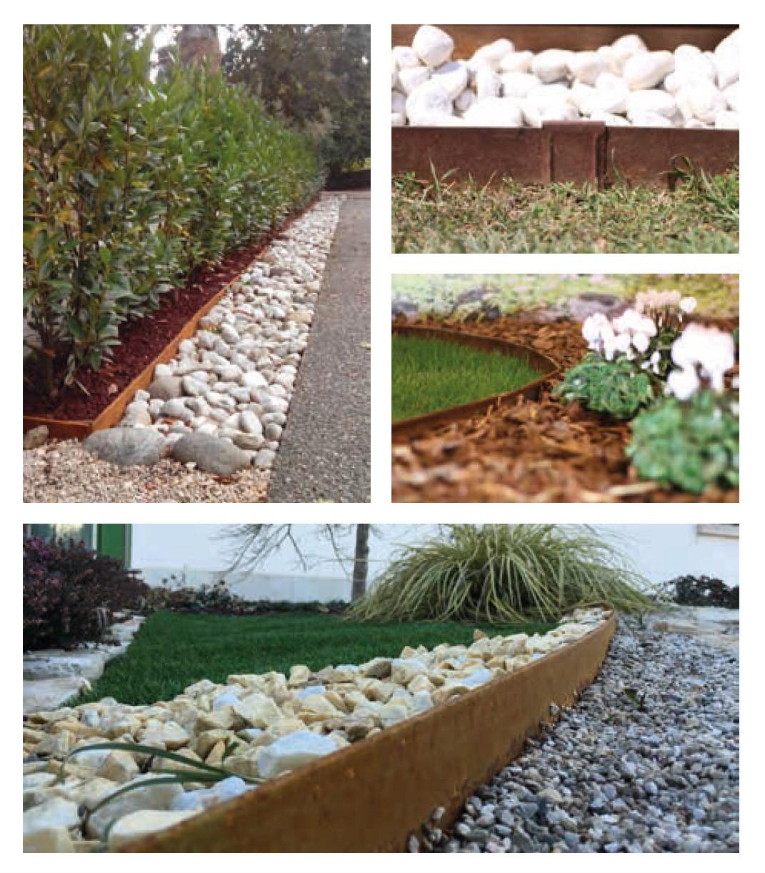 Piante Da Bordura Giardino bordura corten h10 - 10 metri