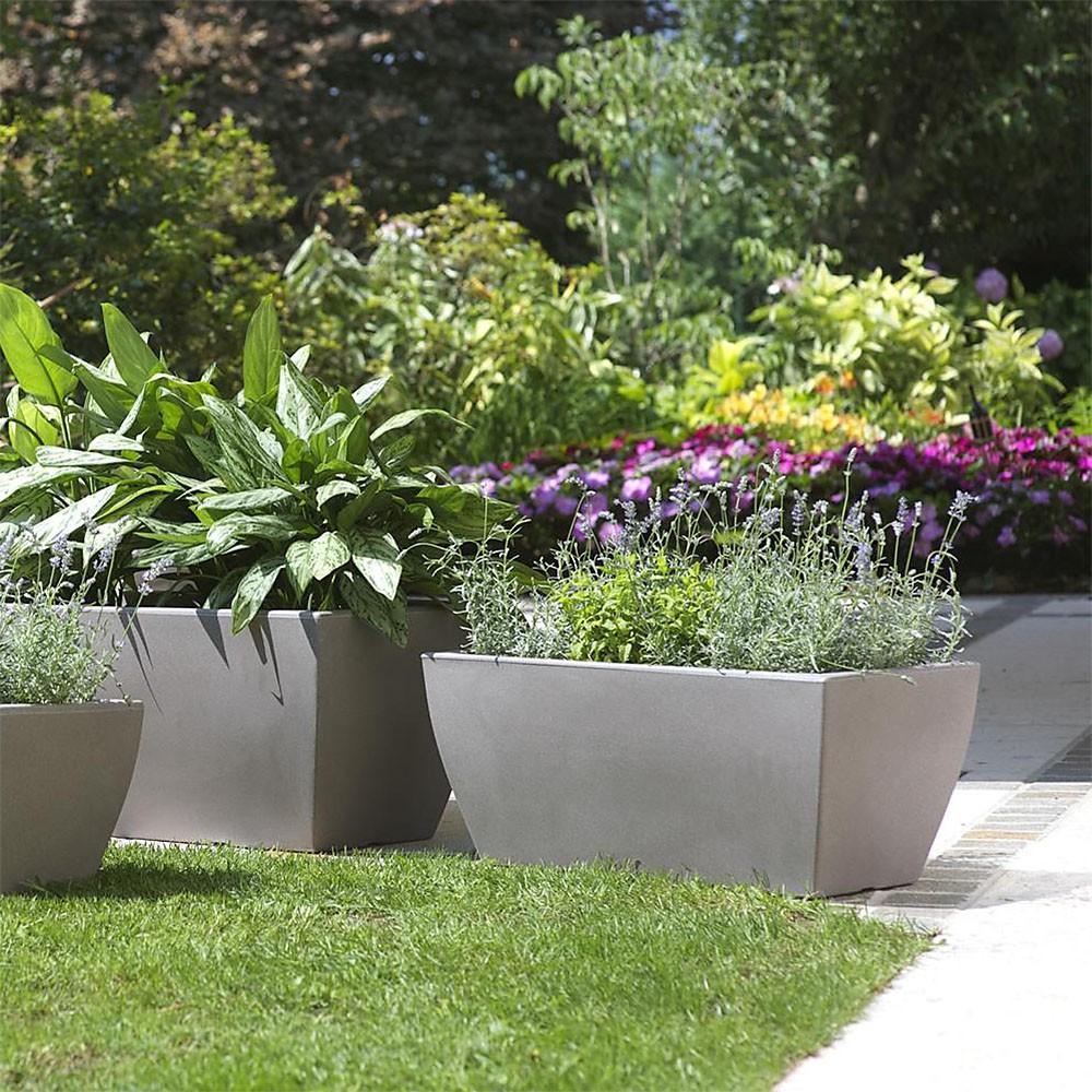 Vaso a cassetta da esterno jardininera veneto in offerta for Alberelli da vaso per esterno