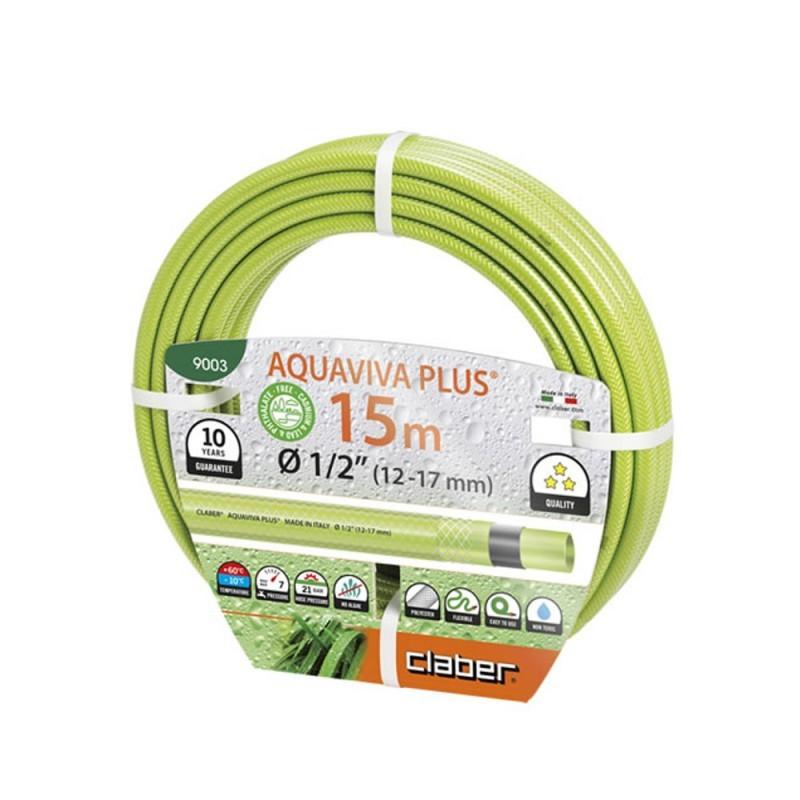 Tubo da irrigazione economico claber aquaviva for Tubo giardino 5 8