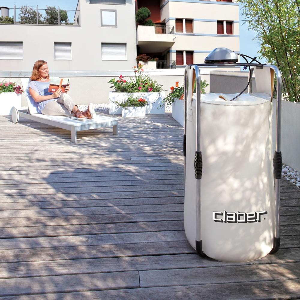 Aqua magic claber kit for Irrigatore automatico per giardino