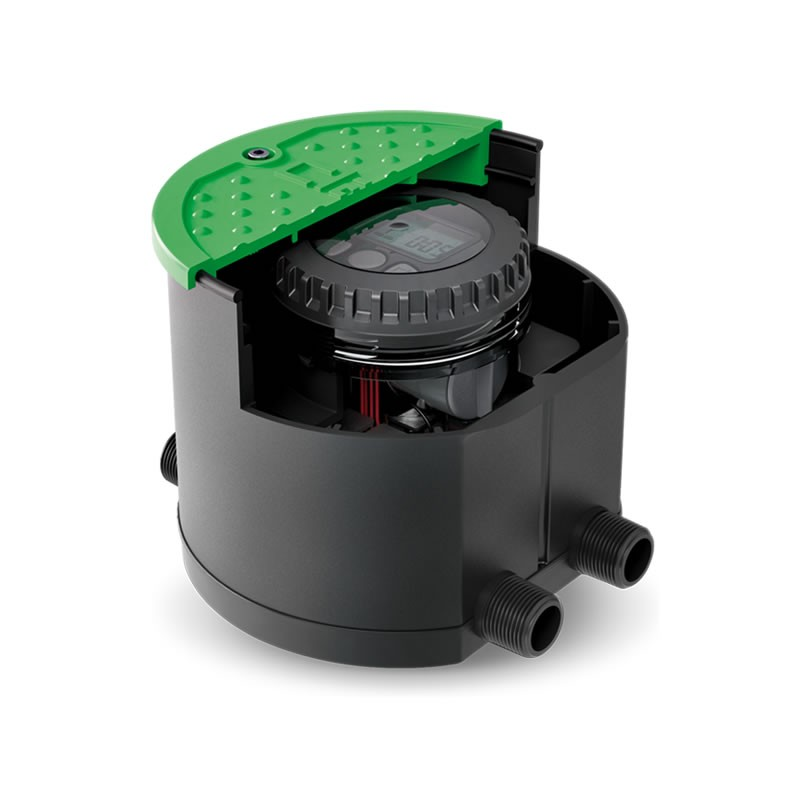Kit per impianto di irrigazione a batteria hydro 4 claber for Costo impianto irrigazione interrato