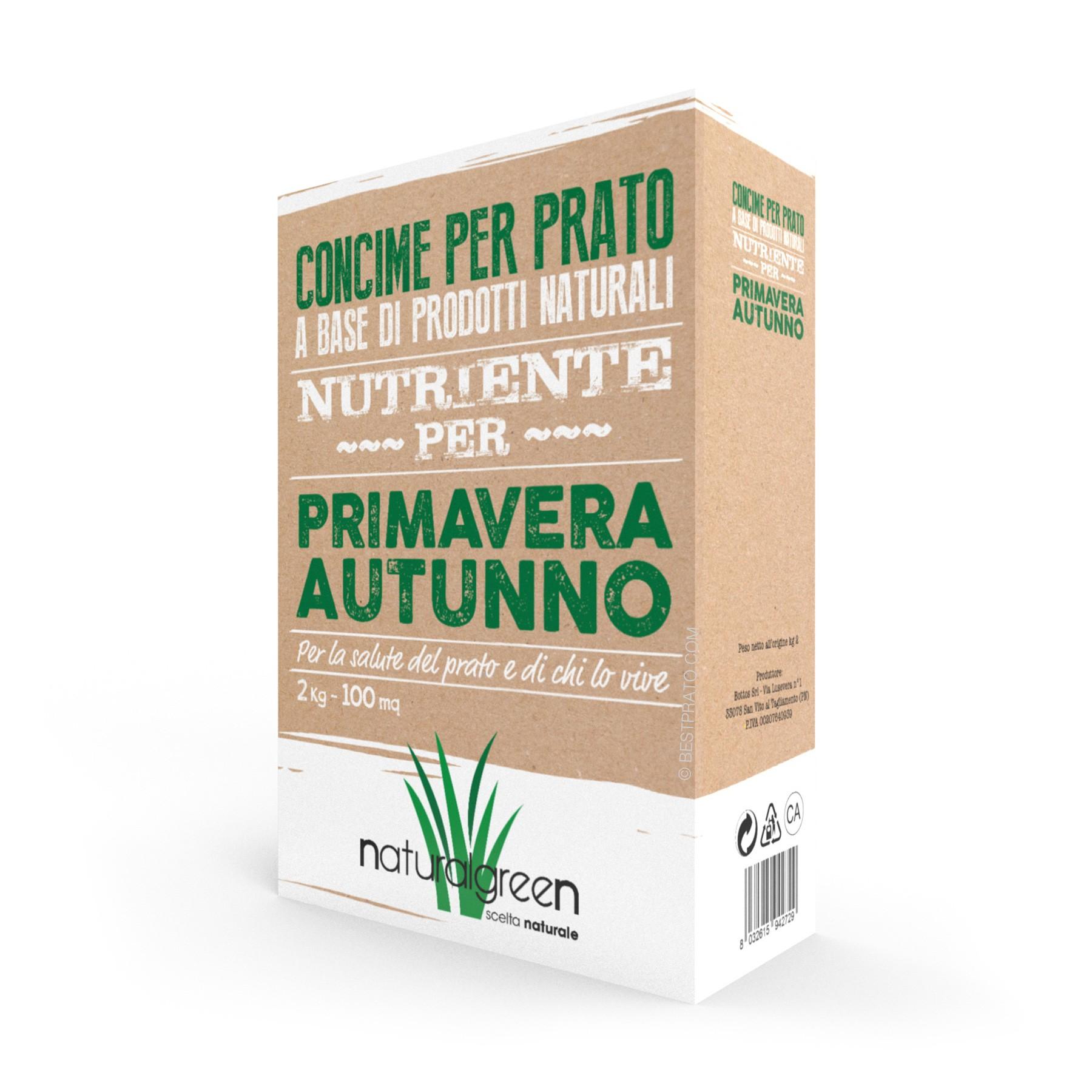 Concime Per Prato Autunnale naturalgreen primavera/autunno - 2kg