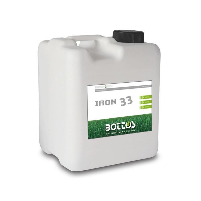 Concime 5kg ferro per prato liquido iron 33 bottos - Concime per prato ...
