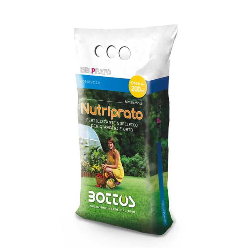 Concime per prato piante da giardino e orto nutriprato - Concime per prato ...