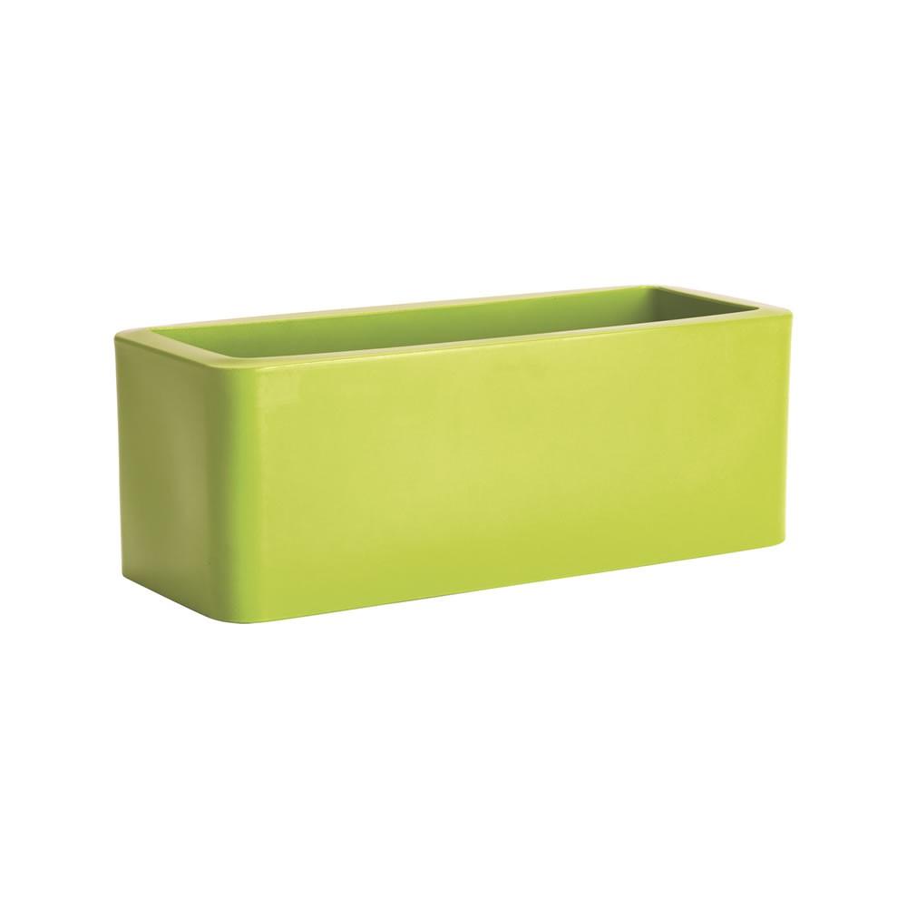 Fioriera a cassetta per vasi e piante calypso nicoli for Vasi rettangolari plastica