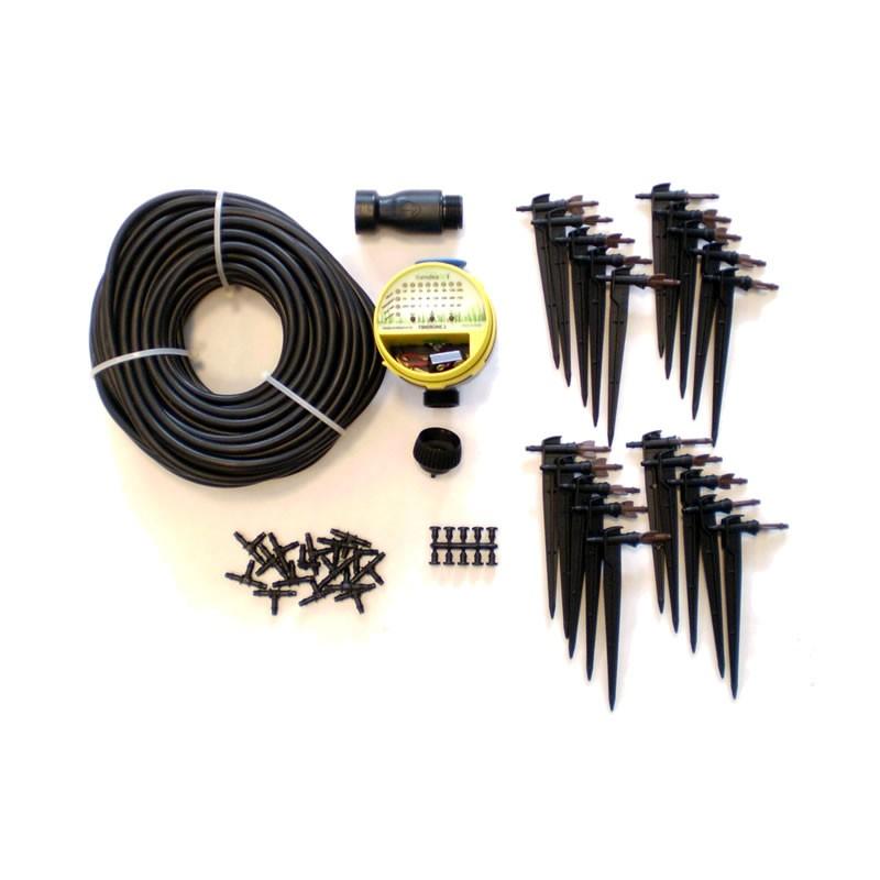Irrigazione automatica orto a goccia kit orto for Impianto irrigazione automatico