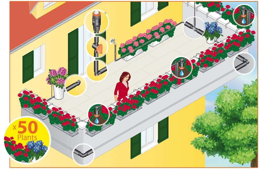 Emejing Impianto Irrigazione Terrazzo Images - Design Trends 2017 ...