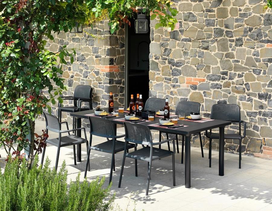 Tavoli E Sedie Da Giardino Nardi.Tavoli Da Giardino Nardi Tavolo Moderno In Polipropilene
