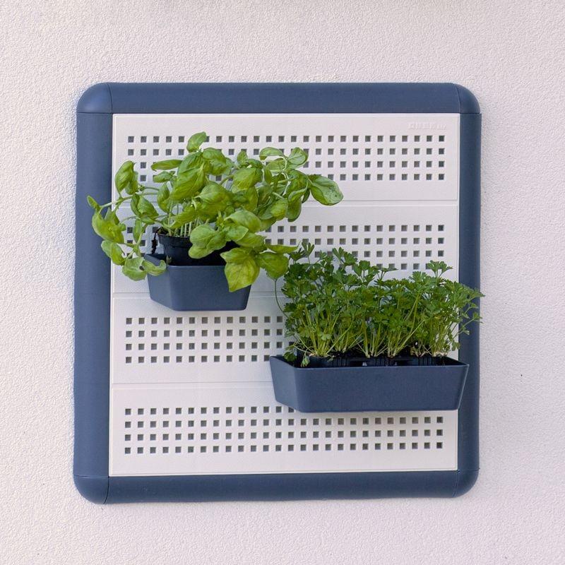 Portaoggetti da muro paretella 40x40 bianco - Portaoggetti da muro ...