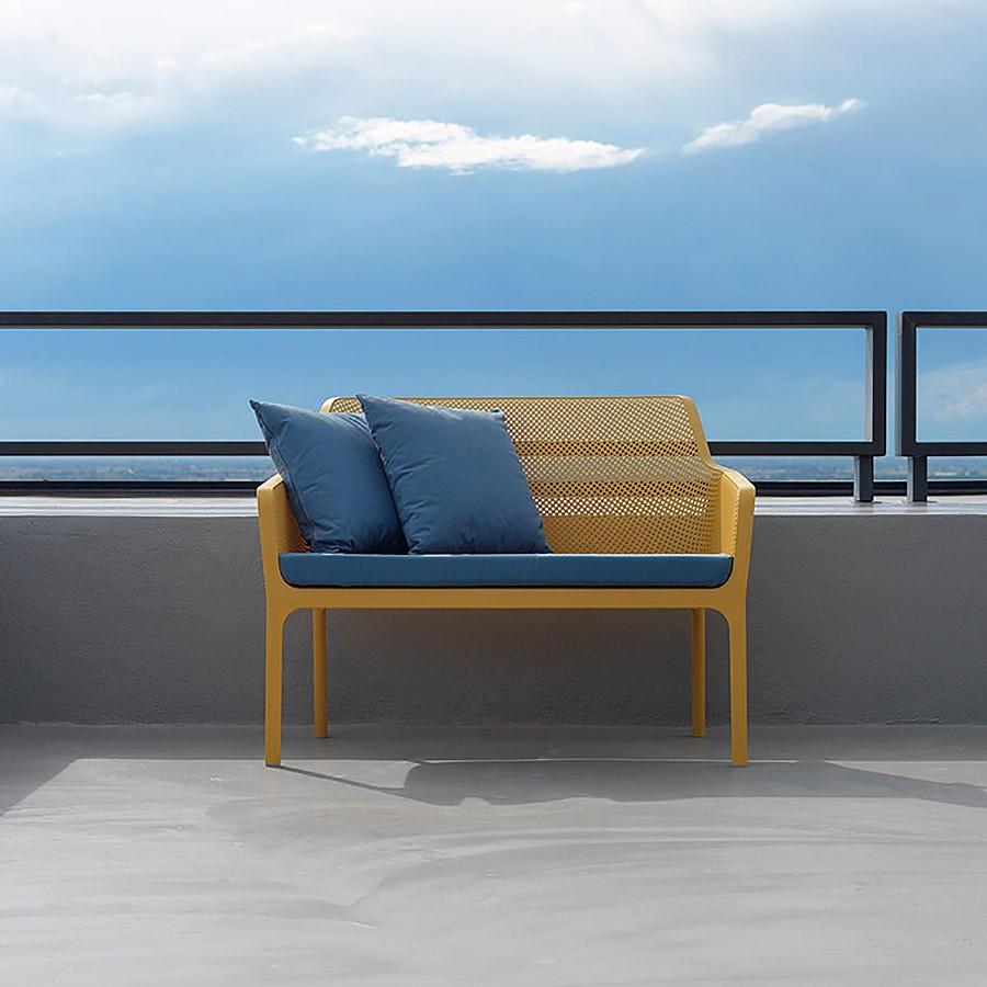 Panchina da giardino net bench rivenditore ufficiale nardi for Nardi arredo giardino