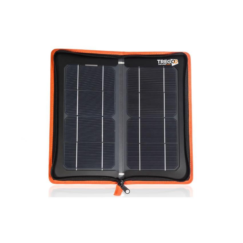 Carica Batteria Con Pannello Solare : Pannello solare pieghevole carica batteria hippy