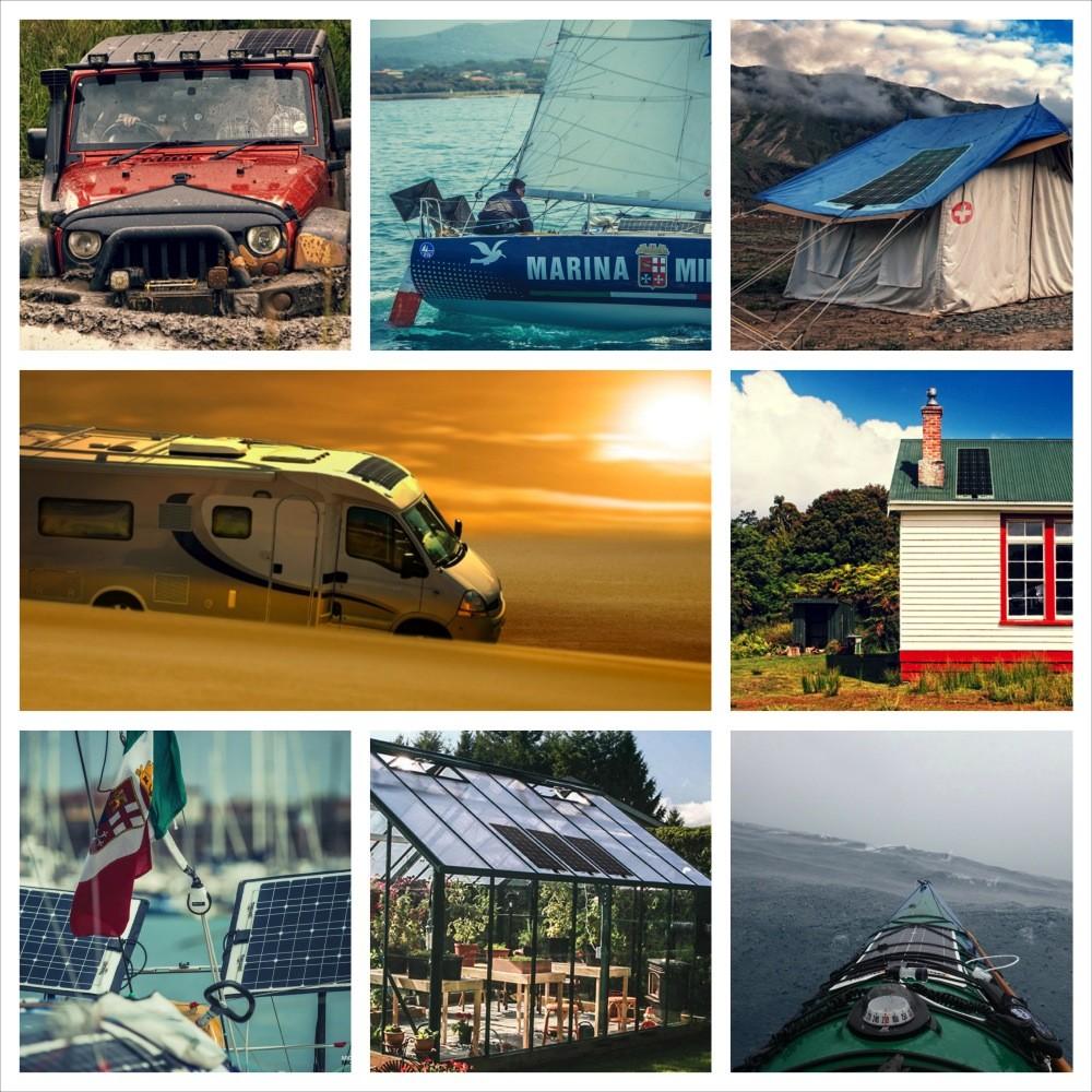Pannello Solare Flessibile Barca : Pannelli solari flessibili per barca a vela camper e