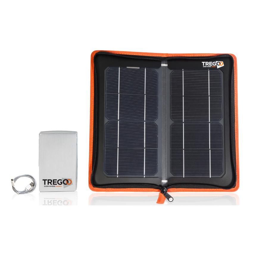 Kit Pannello Solare Con Accumulatore : Pannello solare portatile ricarica batteria kit