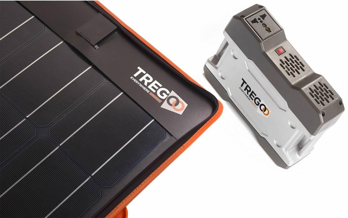 Pannello solare portatile con inverter 200 volt - Fotovoltaico portatile ...
