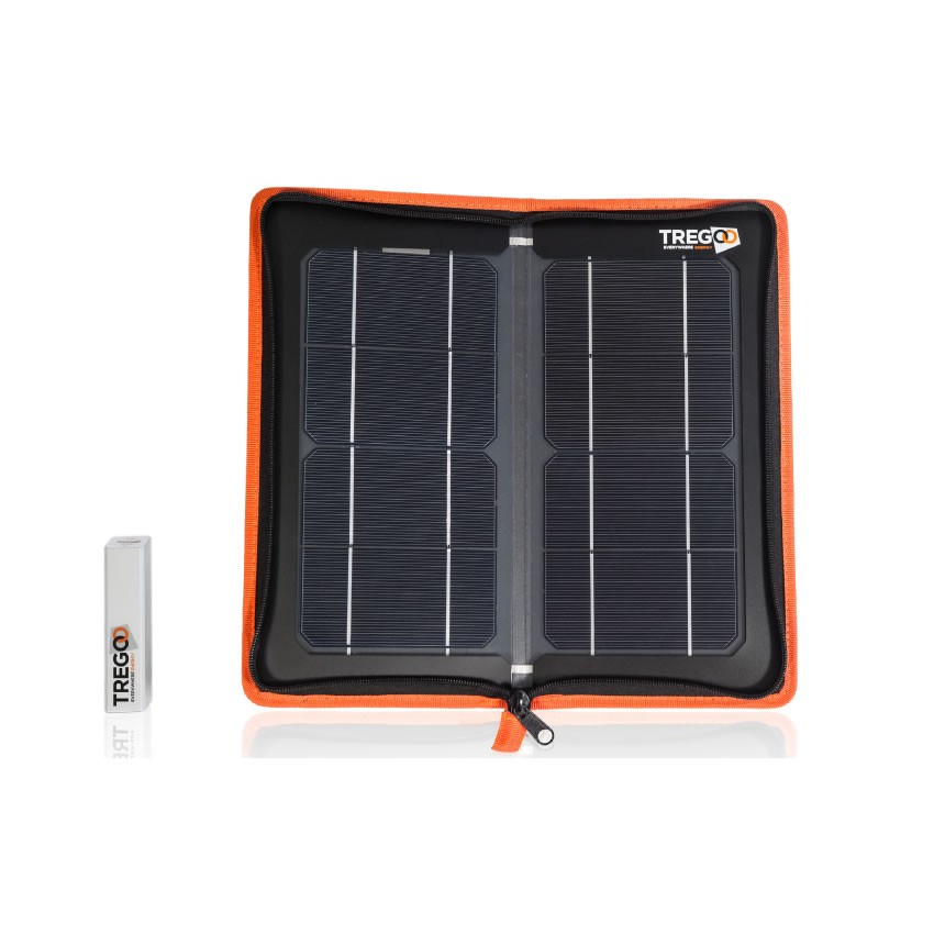Pannello Solare Portatile Con Batteria : Pannello solare portatile carica batteria kit