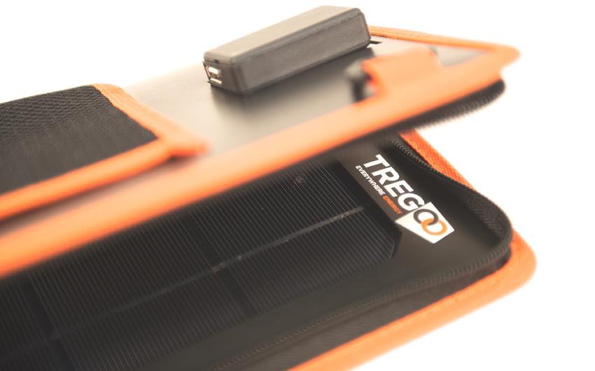 Pannello Solare Portatile Pieghevole : Pannello solare pieghevole carica batteria hippy
