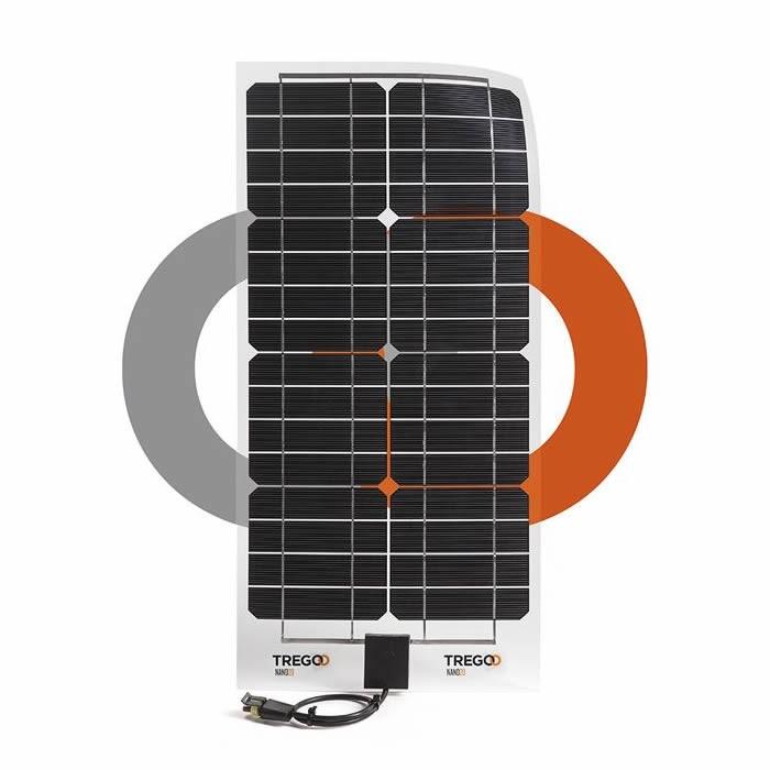 Pannello Solare Fotovoltaico Flessibile : Pannelli solari trasparenti per barca a vela serie nano