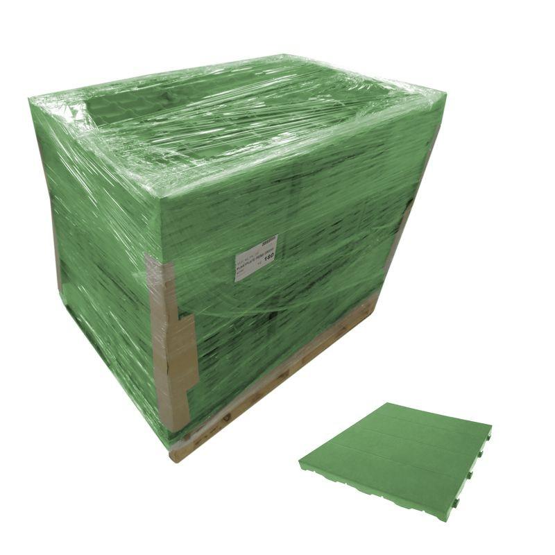 Pavimento componibile in plastica per giardino 60 bancale for Plastica riciclata prezzo
