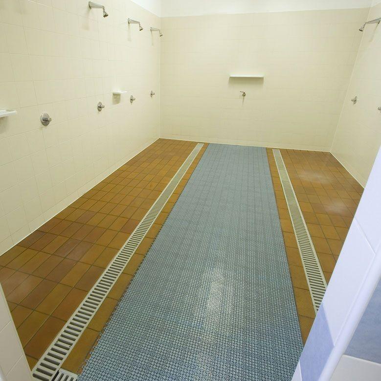 Pavimento plastica per giardino esterno multiplate grigio - Mattonelle per esterno antiscivolo ...