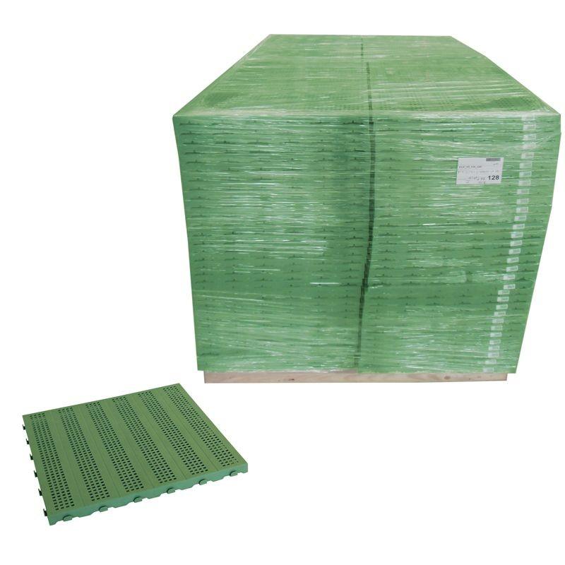 Piastrella in plastica per pavimentazione da esterno bancale - Piastrelle pvc ad incastro ...