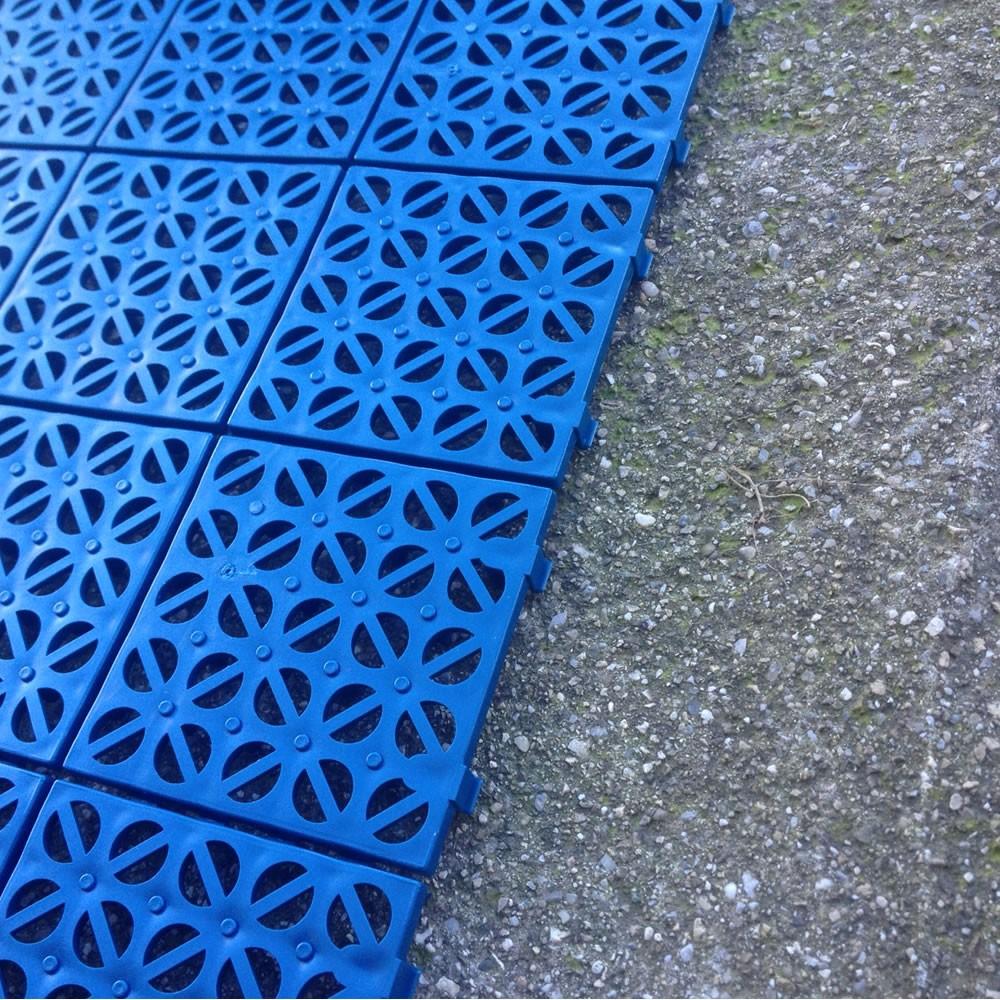 Piastrelle In Plastica Giardino.Multiplate Pavimento Drenante