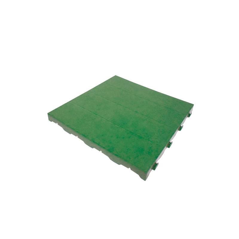 Pavimento componibile in plastica per giardino 60 bancale - Piastrelle x giardino ...