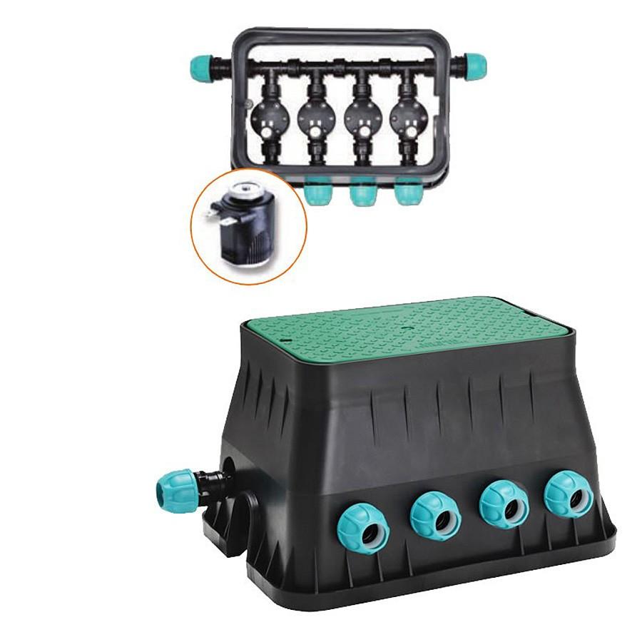 Kit pozzetto per impianto di irrigazione for Geolia irrigazione