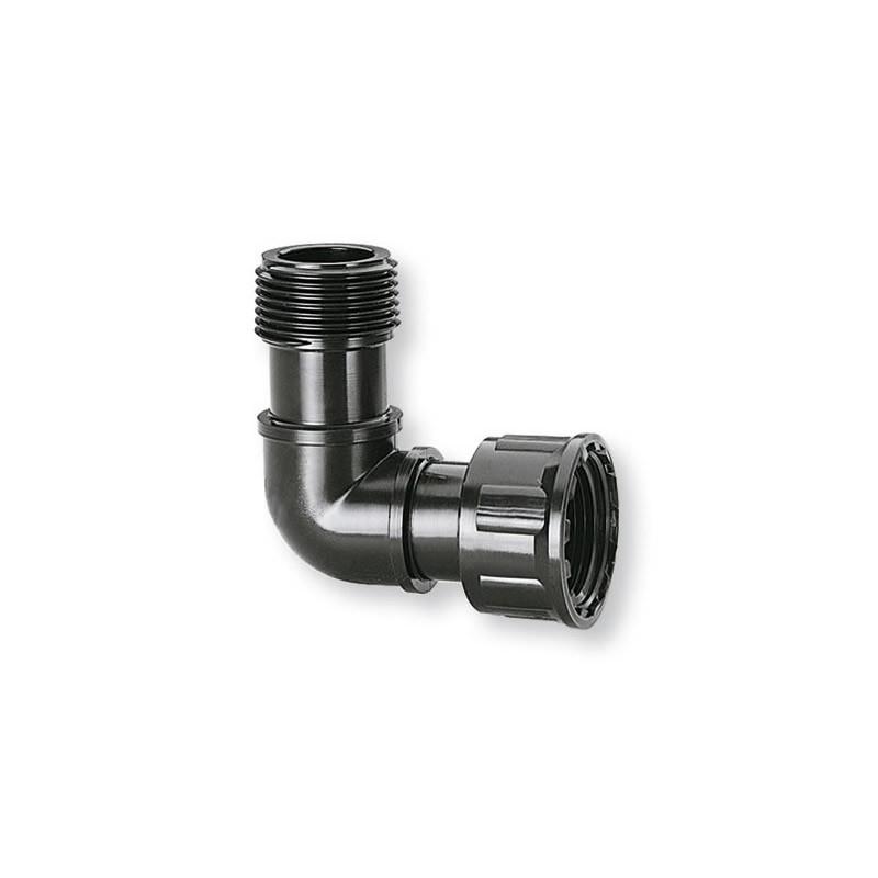 Raccordo a l per collegamento elettrovalvole impianto di for Progettare l impianto di irrigazione