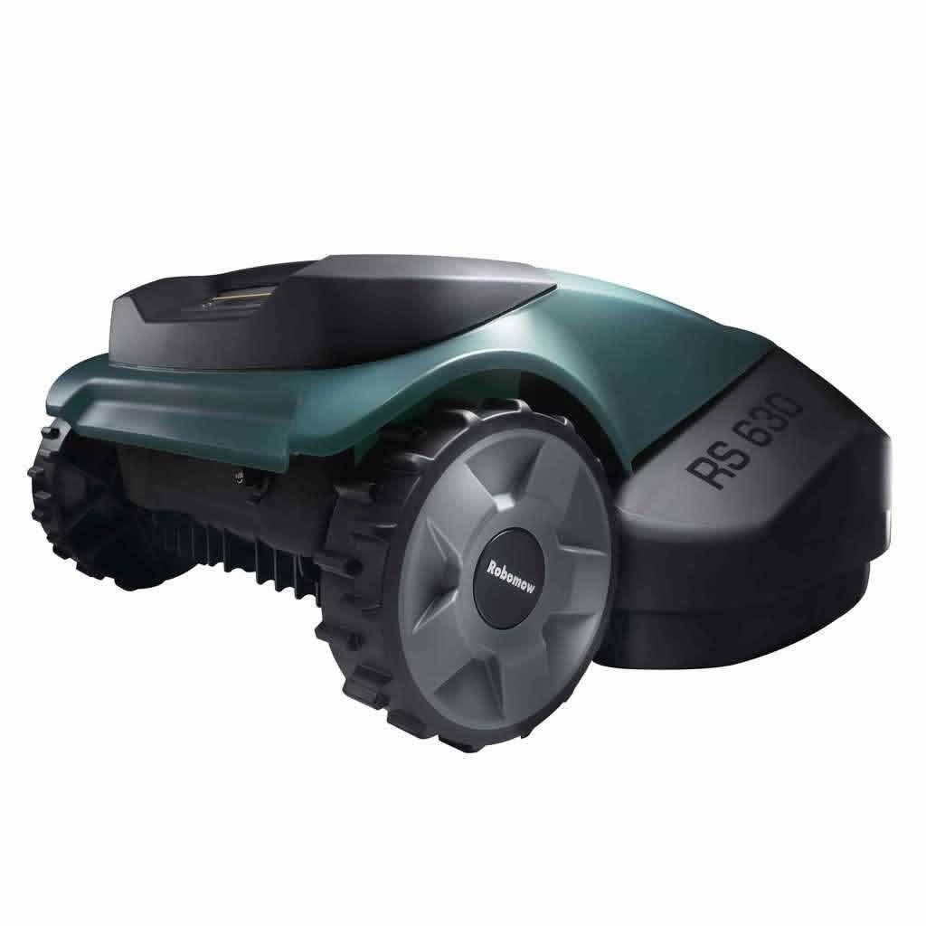 Tagliaerba robot automatico con stazione base Robomow RS 630 per prato ...