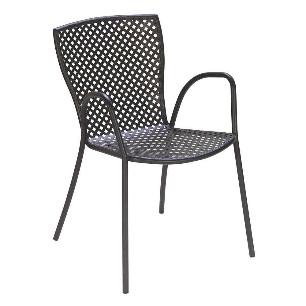 Sedia per giardino in ferro sonia 2 vendita online for Sedie in ferro design