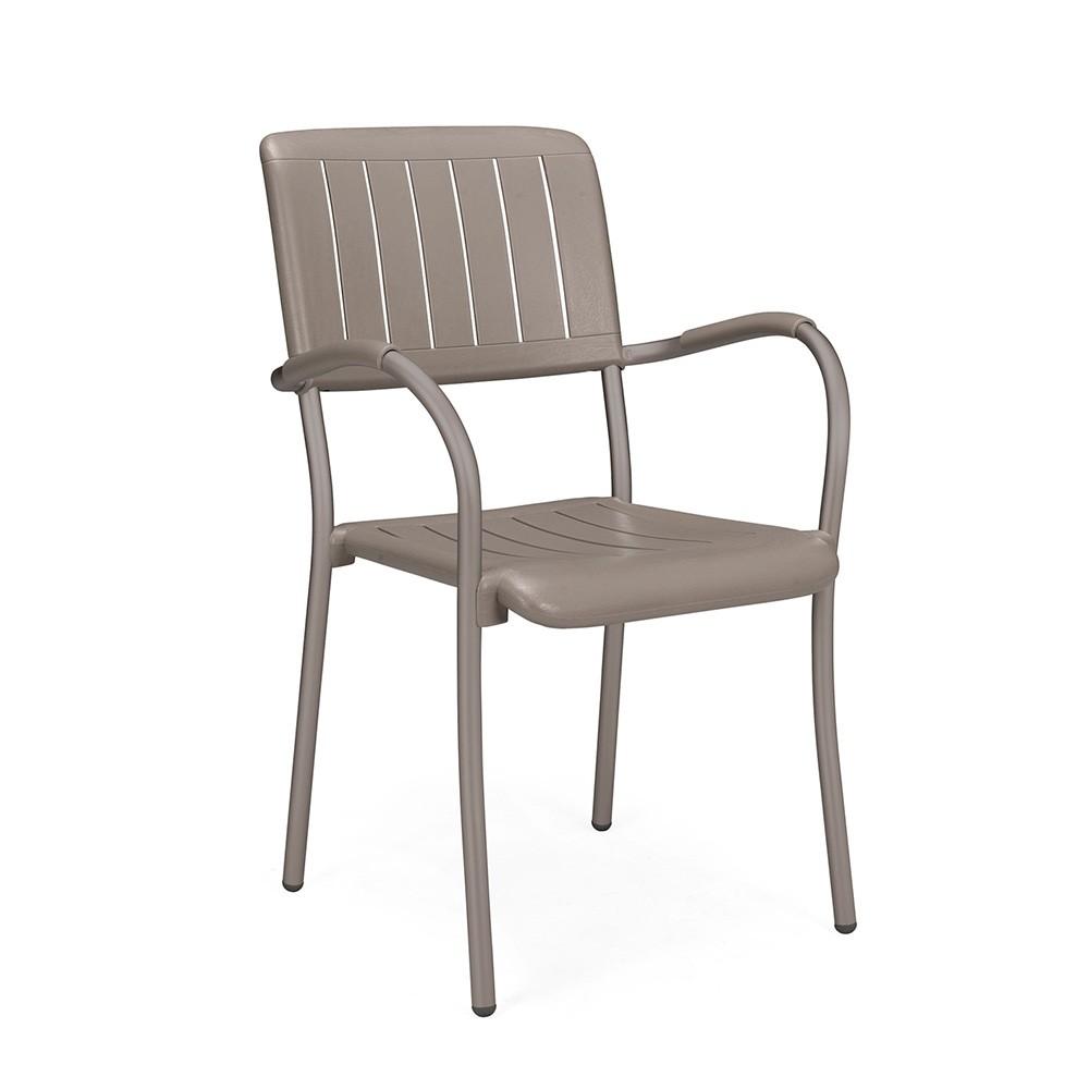 Sedia esterno in alluminio musa nardi for Sedie in alluminio