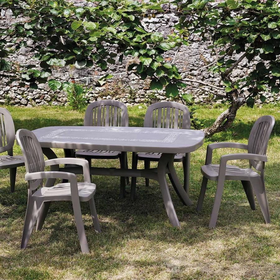 Sedia classica in plastica da giardino creta nardi for Divisori da giardino in plastica