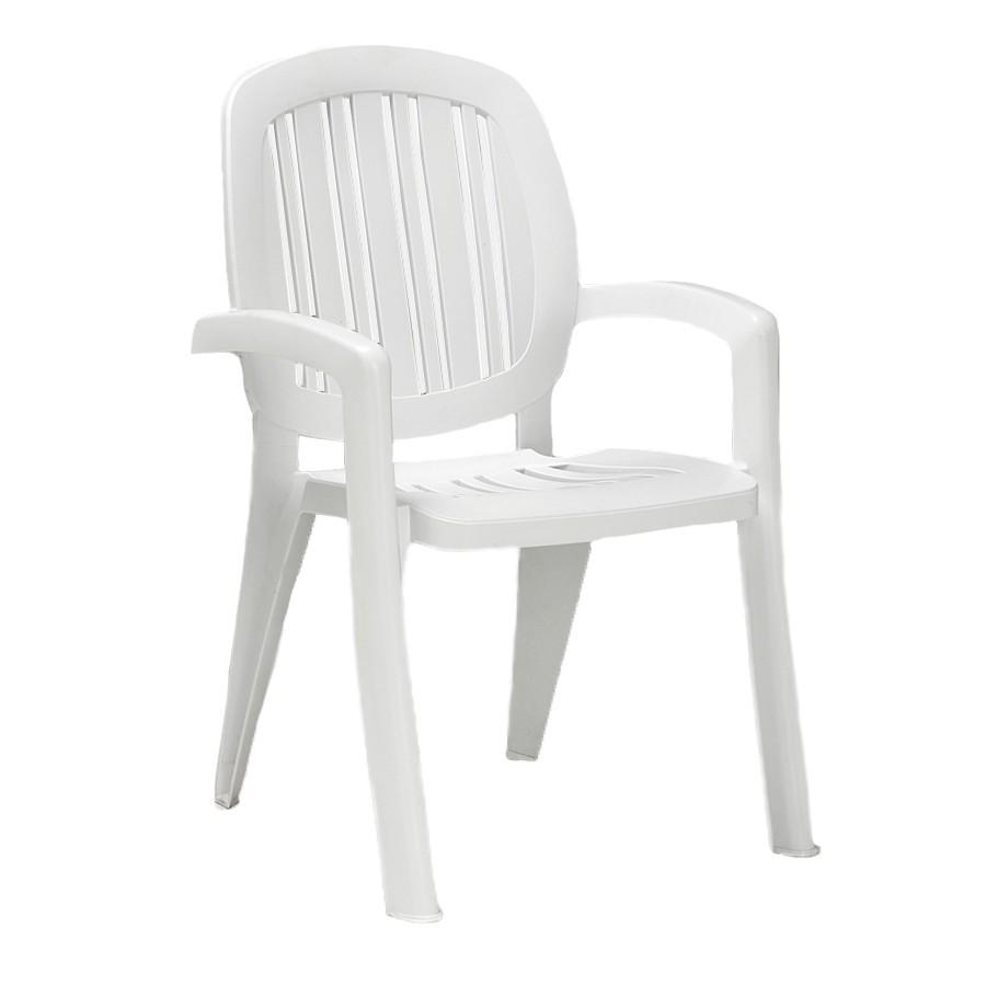 Sedie In Resina Da Esterno.Sedia Classica In Plastica Da Giardino Creta Nardi